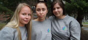 At Norsk studentorganisasjon skal tie om klima henger ikke på greip