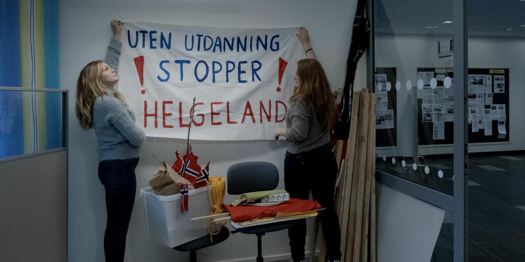 Det er godt dokumentert at Nord universitet systematisk har svekka campus Nesna sidan samanslåinga, og at det planlagde nådestøytet såleis er vel førebudd, skriv Pål Hamre ved Høgskulen i Volda. Foto: Paul S. Amundsen