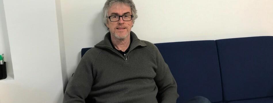 Steinar Vagstad er leder av Forskerforbundet i Bergen, og reagerer sterkt på NTNUs håndtering av faktakartlegging og offentliggjøring av faktagransiking i Steinnes-saken på Institutt for historiske studier på NTNU. Foto: Tove Lie