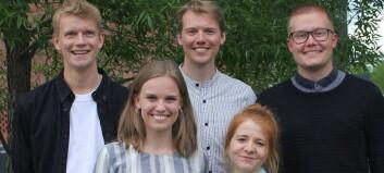 Rødgrønn studentledelse valgt på Universitetet i Oslo