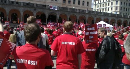 Ingen streik i staten. Partene er enige.