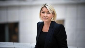 Kommunal- og moderniseringsminister Monica Mæland. Foto: KMD