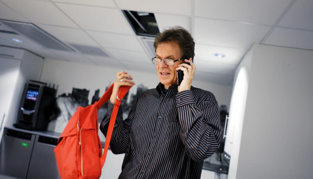 Einar Braaten er en av tre nyvalgte representanter for de ansatte til styret på OsloMet. Foto: Ketil Blom Haugstulen
