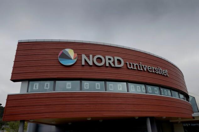 Kampen for Namdalen er det det handlar om på campusen i Namsos om dagen. Foto: Paul S. Amundsen