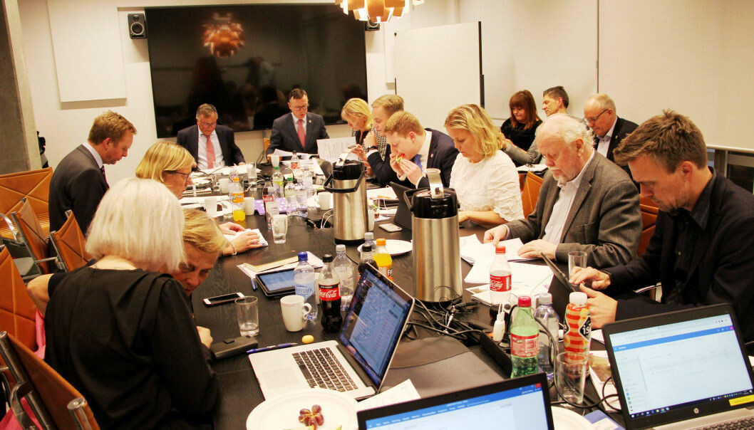 Forrige gang besøkte styret Fakultet for kunst, musikk og design på Møllendal. Onsdagens møte foregår på Muséplass 1. Foto: Hilde Kristin Strand