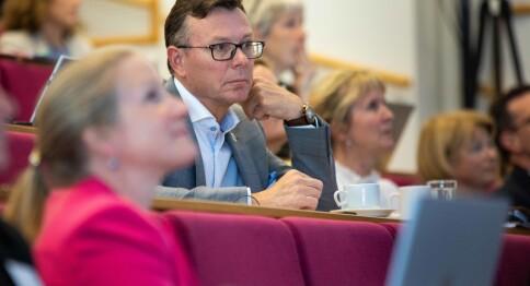 Rektor Olsen er ny leder i UHR