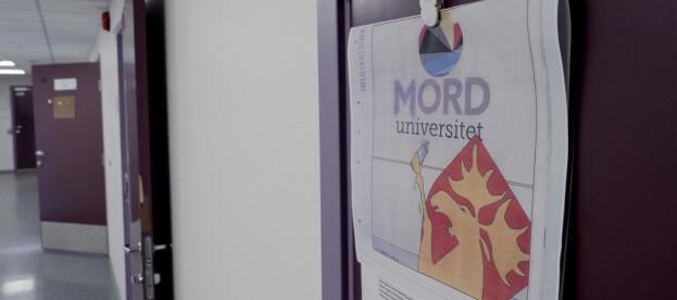 Ei etter kvart vanleg feilstaving ved Nord universitet. Foto: Paul S. Amundsen