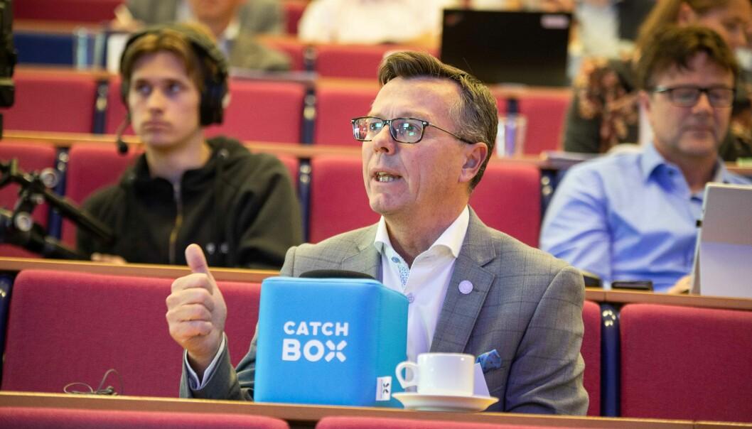 Påtroppende leder i UHR og rektor ved UiB, Dag Rune Olsen, mener at gode prosesser er viktig for å få til et godt resultat. Foto: Siri Øverland Eriksen