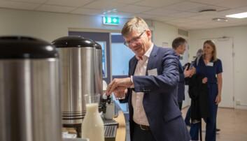 Svein Stølen, rektor UiO. Foto: Siri Øverland Eriksen