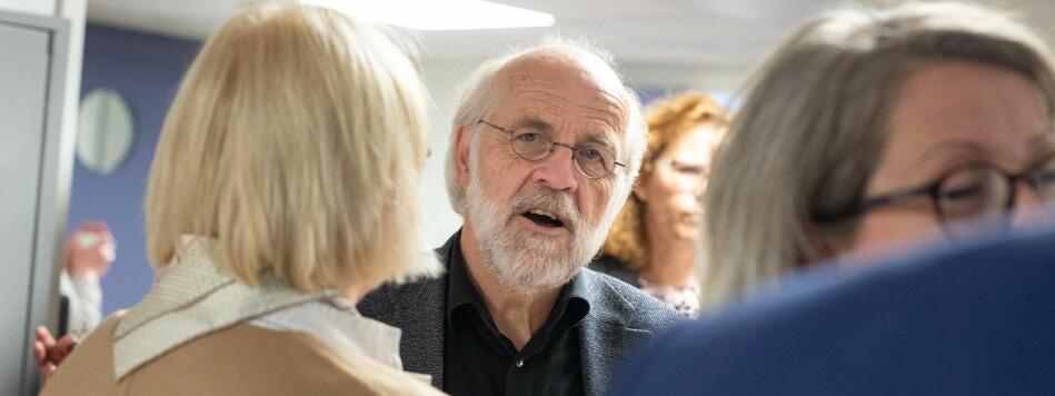 Rektor ved Universitetet i Sørøst-Norge, Petter Aasen, mener at man bør ta hensyn til basisbevilgningen fra staten når man skal avgjøre medlemsavgiften i Universitets- og høgskolerådet (UHR). Foto: Siri Øverland Eriksen