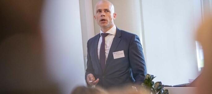 — Vi synes det strenge nedstengingsregimet som har vært, og fortsatt pågår, er urimelig, sier rektor ved Høgskolen i Østfold, Lars-Petter Jelsness-Jørgensen.
