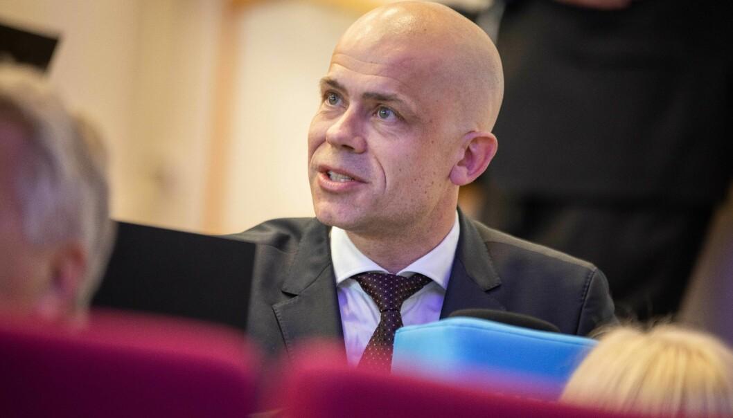 Lars-Petter Jelsness-Jørgensen får enda en periode som rektor ved Høgskolen i Østfold.