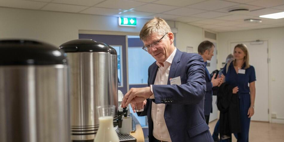 Rektor Svein Stølen ved Universitetet i Oslo leder det beste universitetet i Norge, ifølge World University Rankings 2019-20. Foto: Siri Øverland Eriksen