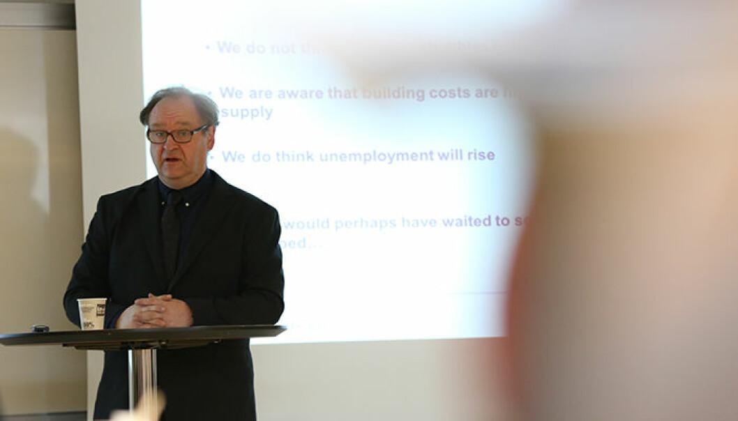 Professor Kjell Erik Lommerud ved Universitetet i Bergen er en av 10 samfunnsøkonomer i den nye korona-gruppen . Foto: BI