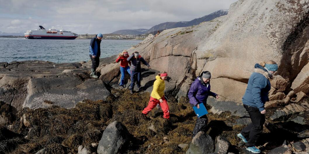 Det er store avstander ved Nord universitet. Foto: Paul S. Amundsen
