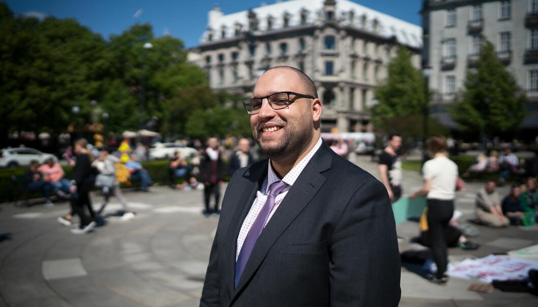 Amine Fquihi, ISU National President. Foto: Ketil Blom Haugstulen