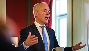 Kunnskaps- og integreringsministerJan Tore Sanner (H). Foto: Siri Øverland Eriksen