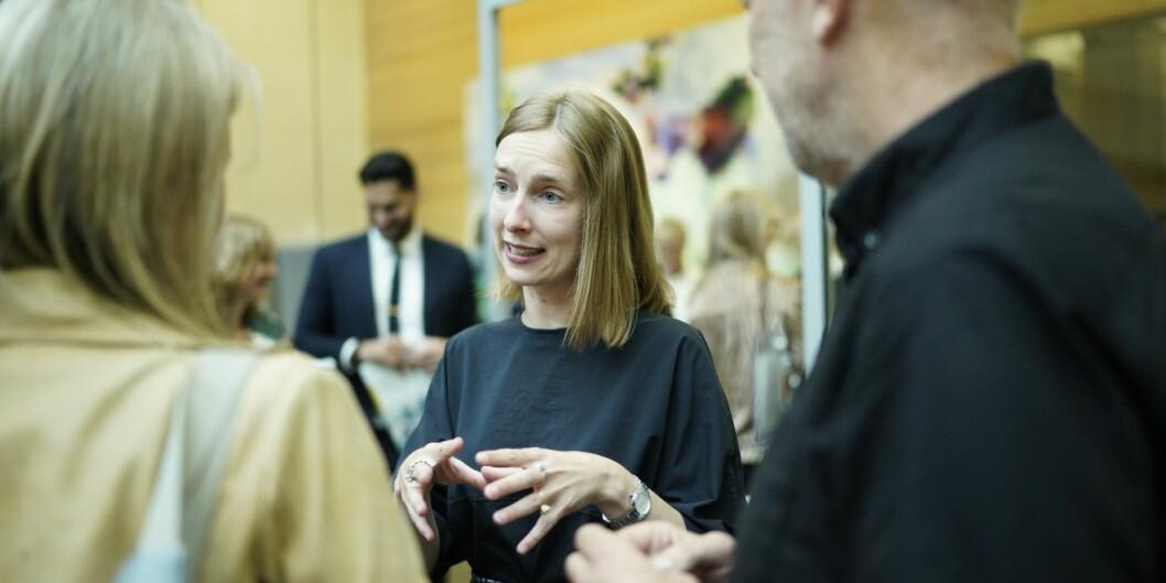 Statsråd Iselin Nybø gir støtte til et prøveprosjekt som skal få halvstuderte lærere tilbake til studiene. Foto: Ketil Blom Haugstulen