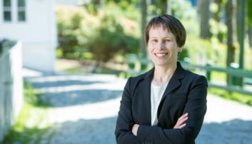 Prorektor Linda Nøstbakken er en av to kvinner på listen over de 10 NHH-ansatte som er mest synlige i mediene. Foto: NHH