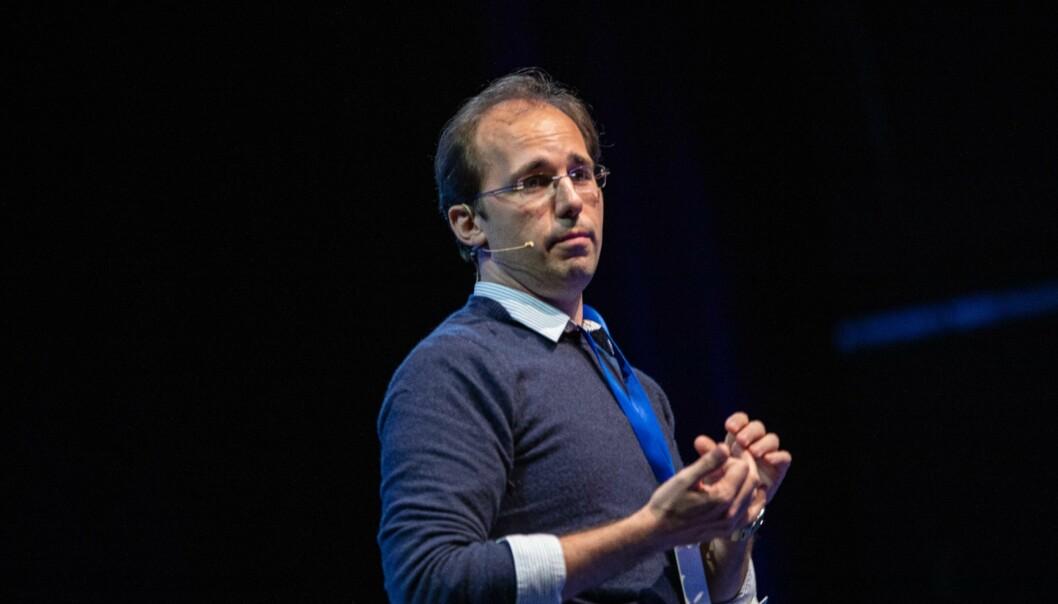 Mathias Schroijen: Tror det er et tabu å ta det opp om man er stresset og kanskje begynner å slite psykisk. Foto: Siri Øverland Eriksen