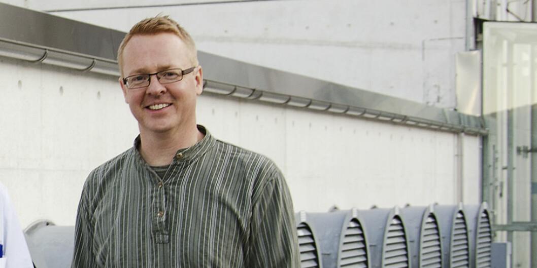 Kurt Hanevik er infeksjonsforsker på Universitetet i Bergen. Foto: Anne Sidsel Herdlevær