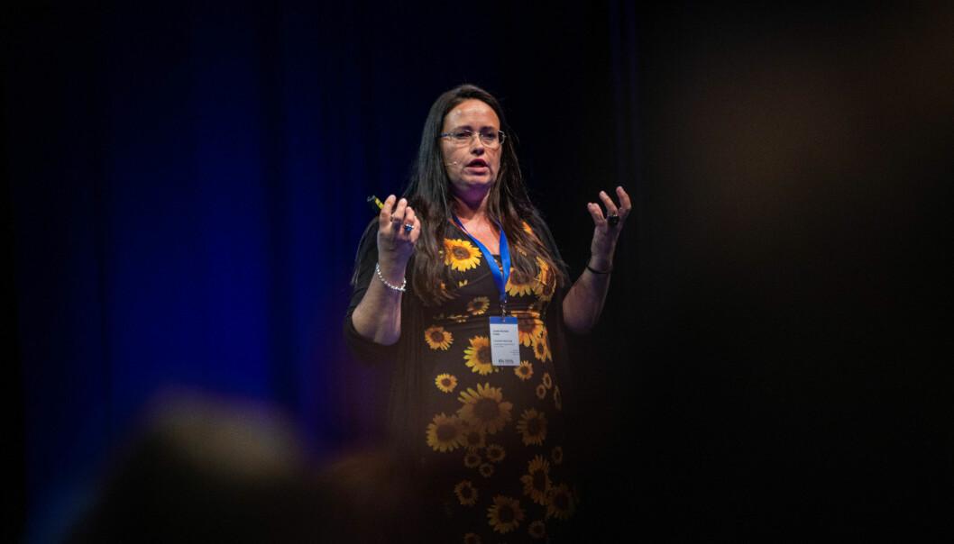 Hovedverneombud på USN, Anette Norheim Fredly ønsker en SHoT-undersøkelse for Phd-kandidater. Foto: Siri Øverland Eriksen