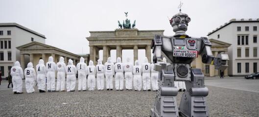 Forskere vil ha forbud mot drapsroboter