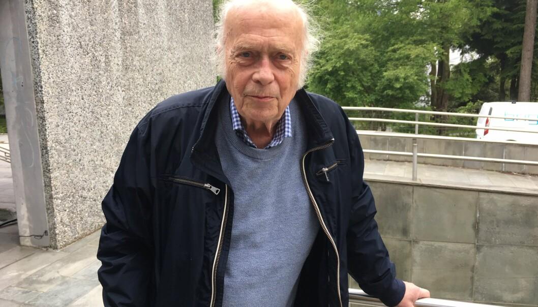 Professor emeritus Knut Venneslan reagerer sterkt på saken. Foto: Hilde Kristin Strand