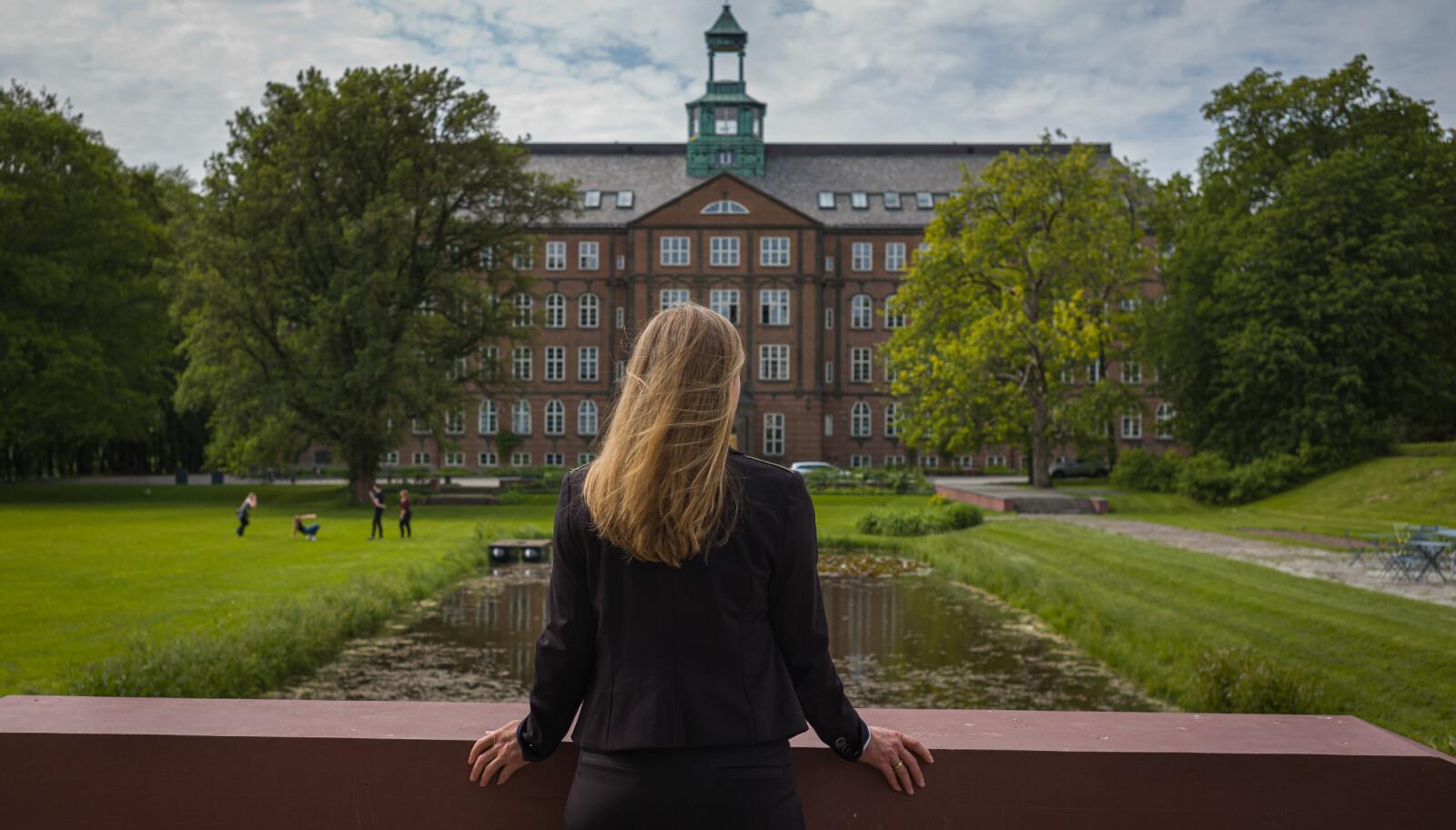 Siste innspurt. Foto: Siri Øverland Eriksen