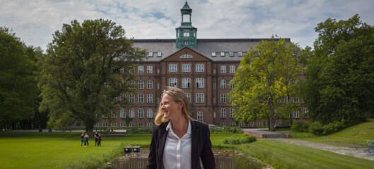 Rektor Mari Sundli Tveit: Vil savne samarbeidet med studentene aller mest