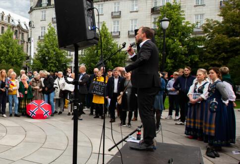 «La Nesna leve!» inntok Oslo