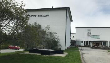 Dagens museumsbygg ligger på sørspissen av Tromsøya. Foto: Hege Larsen