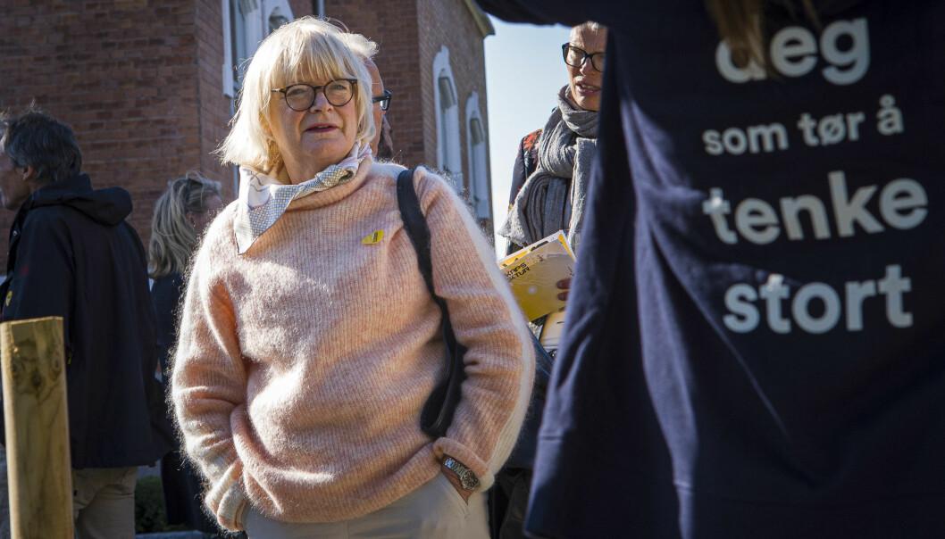 Det er særlig mangel på kontroll med kvaliteten på studietilbudene ved Høgskulen på Vestlandet, mener komiteen som har gått gjennom kvalitetsarbeidet på høgskolen ledet av rektor Berit Rokne. De mener også at det er små grep som skal til for å endre dette. Foto: Siri Øverland Eriksen