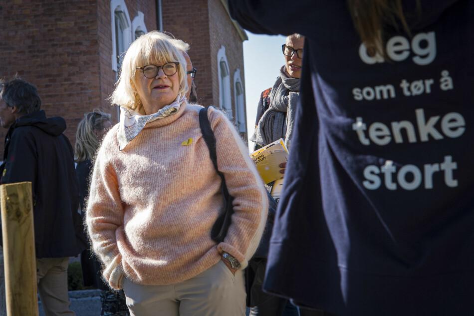 Verden har i dag en erklært klimakrise, taler Høgskulen på Vestlandet-rektor Berit Rokne. Foto: Siri Øverland Eriksen