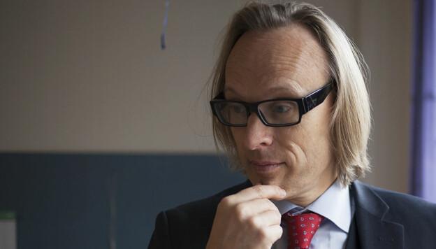 Morten Irgens, dekan ved Høyskolen Kristiania. Foto: Evelyn Pecori
