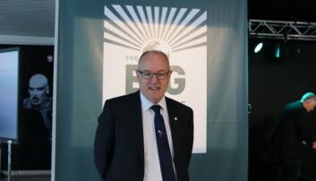 NTNUS rektor, Gunnar Bovim er stolt over det dei har fått til i Trondheim, Noregs første internasjonale vitskapsfestival, Big Challenge. Foto: Njord V. Svendsen