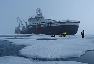 Eksperter leter etter årsaken til motorhavariet på forskningsskipet Kronprins Haakon
