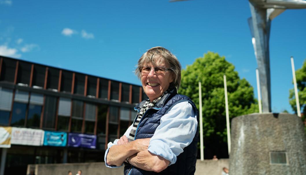 Gerd Brantenberg (77) var student på Blindern gjennom nesten alle 60-årene. I dag er hun feminist og forfatter, men den gang var hun også med på Blinderns første homoaksjon. Foto: Ketil Blom Haugstulen.