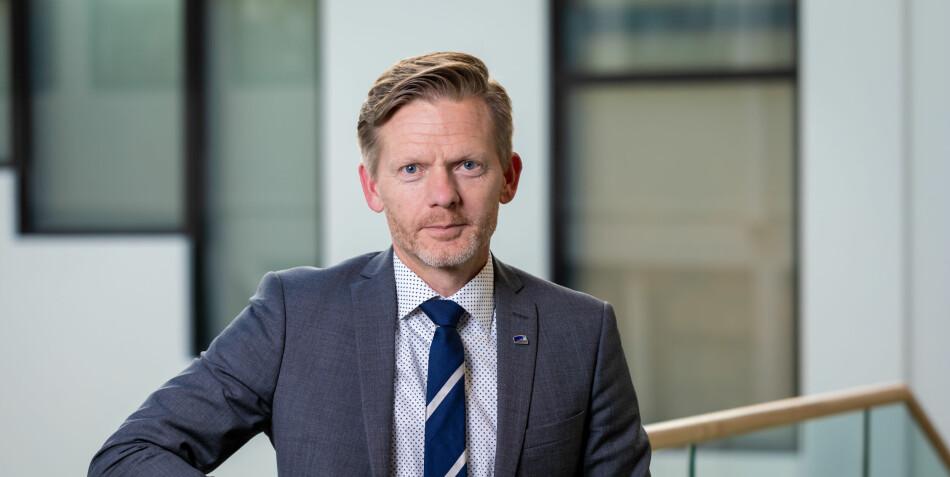 Tage Pettersen (H) og flertallet i Stortingets Familie- og Kulturkomité ønsker likebehandling av elektroniske tidsskrifter. Foto: Hans Kristian Thorbjørnsen / Høyre