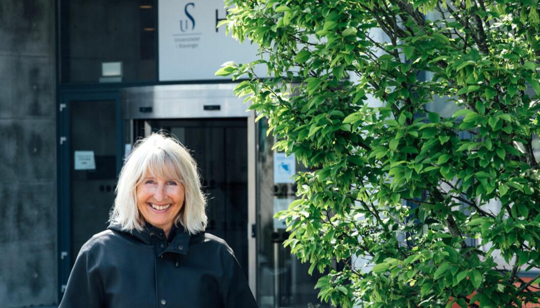 Marit Boyesen, rektor ved Universitetet i Stavanger er skal sammen med 12 andre europeiske unviersiteter utvikle en ny studiemodell for studentene sine. Foto: UiS