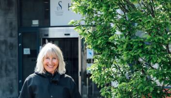 Avtroppende rektor Marit Boyesen gleder seg til langsom tid med kaffe. Mari Løvås, UiS.