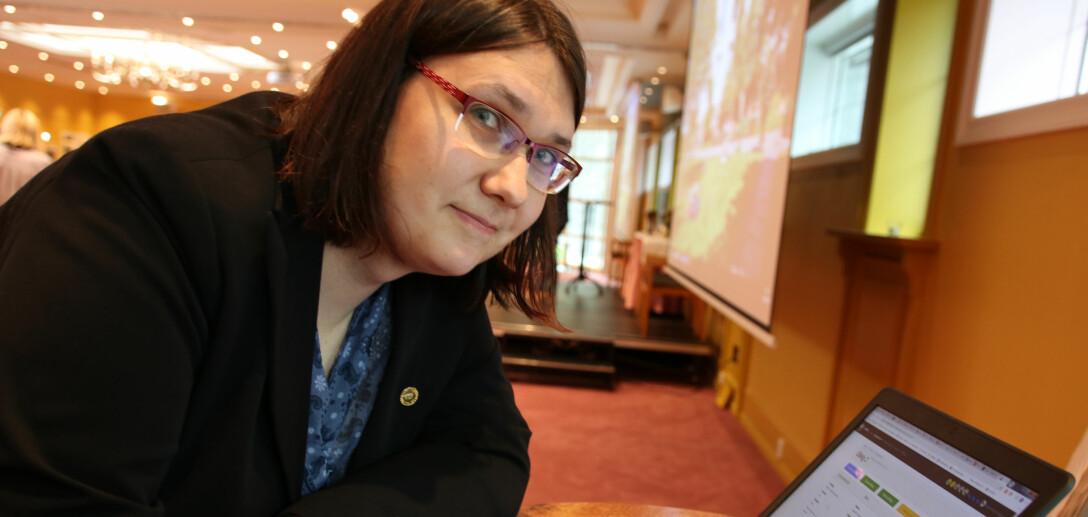 Anya Helene Bagge tok ikke fordypning i matematikk på videregående, hun valgte engelsk. I dag hadde førsteamanuensen i informatikk ikke kommet inn på faget der hun selv underviser.
