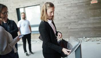 Iselin Nybø flyttet i sommer inn i en studentbolig på Kringsjå. Foto: Ketil Blom Haugstulen