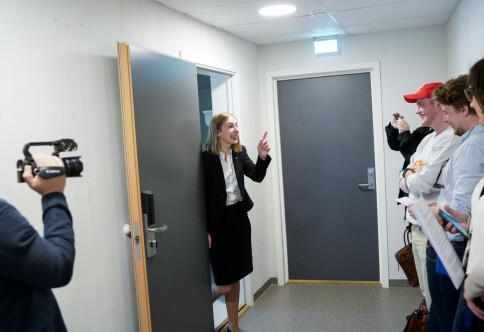 Iselin Nybø klarte utfordringen, men er lei av brødskiver etter en uke på studentbudsjett