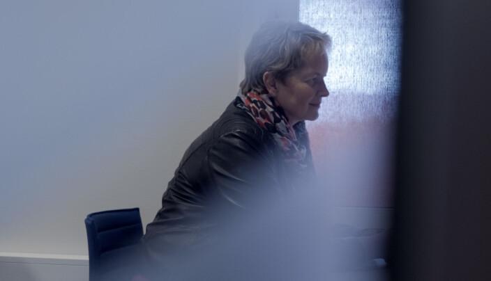 Rektor Hanne Solheim Hansen ved Nord universitet sier hun vil ha dialog for å imøtekomme behovene for utdanning i Vesterålen.