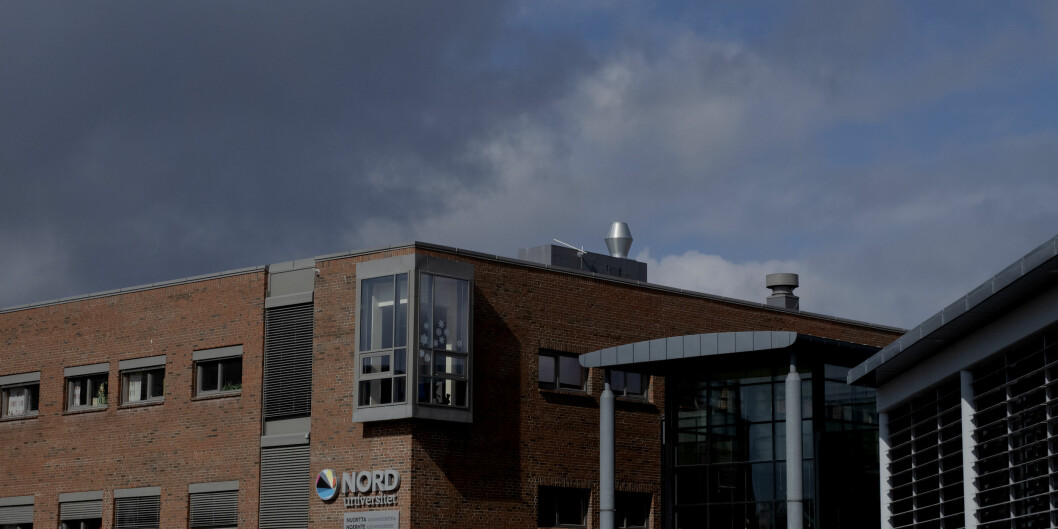 Nord universitet i Bodø, campus. Foto: Paul S. Amundsen