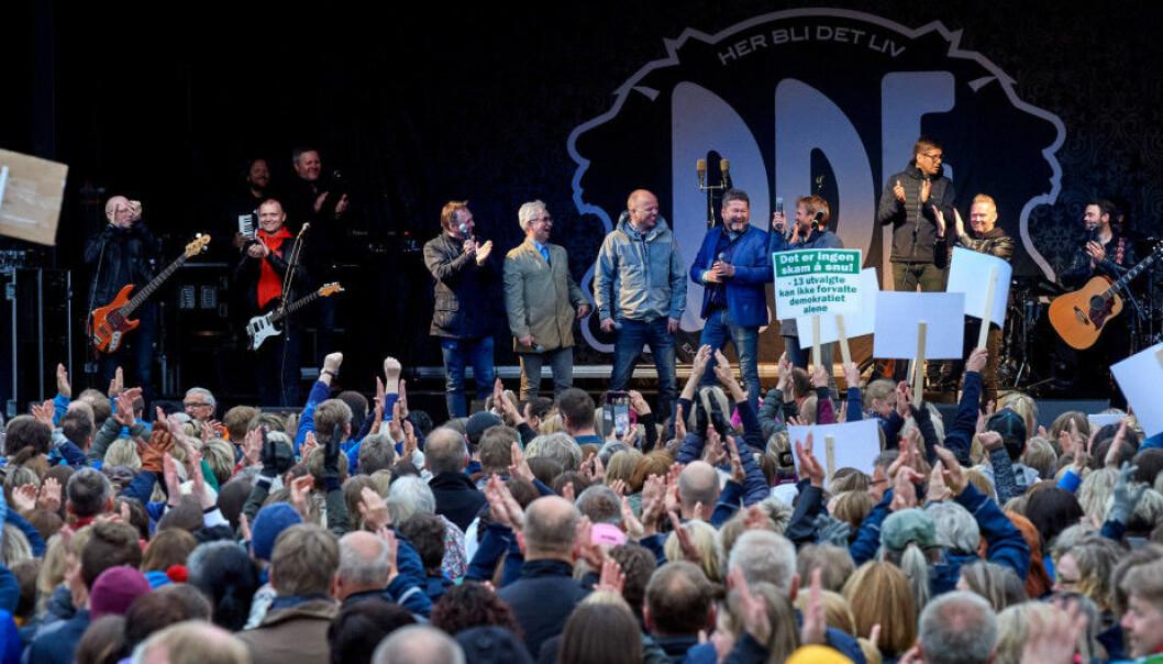 DDE mobiliserte mot nedlegging av Campus Namsos og vant fram . Noen som husker