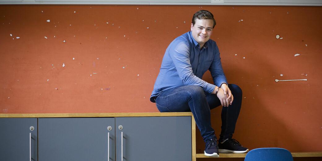 — Resultata i undersøkinga underbygger det vi veit, at studentar har godt av å vere saman i ulike læringssituasjonar, seier Andreas Trohjell, påtroppande leiar i Norsk studentorganisasjon (NSO).