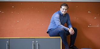 Andreas Trohjell er valgt til ny leder i NSO