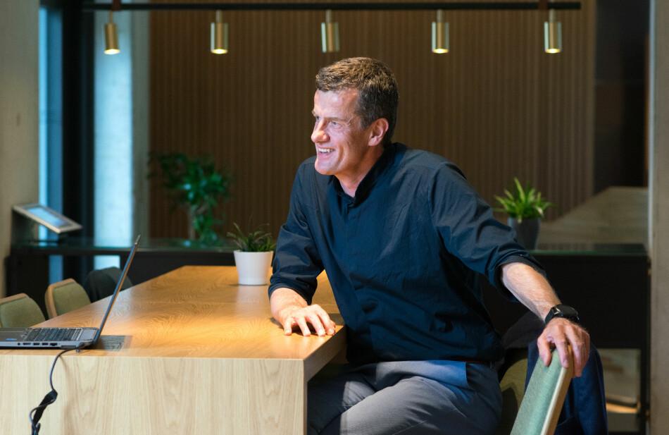 Rektor Klaus Mohn ved Universitetet i Stavanger. Foto: UiS